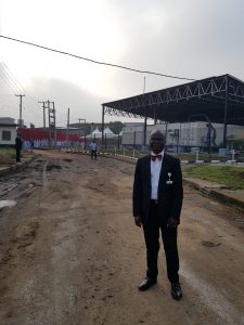 GET E.S. Babatunde Saka at the Commissioning of the Lagos State Biobank